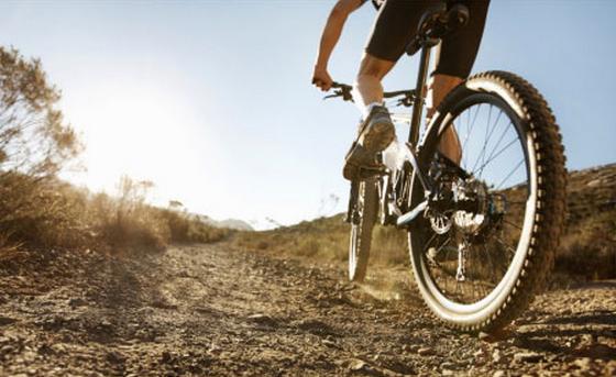 Parker CO bike trails near Stepping Stone