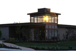 Lantern House at Sunset