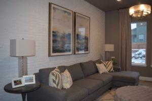 Sitting Room Brick Wall Marigold