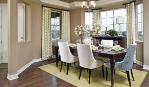 Seth model dining room