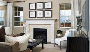 Cynthia fireplace new home
