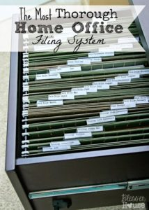 home organizing stepping stone spring