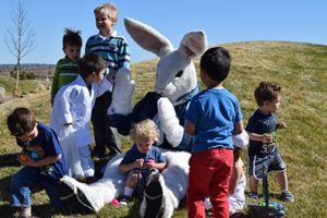 Easter Eggstravaganza at Stepping Stone