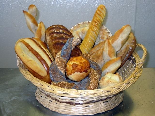bread at bakery