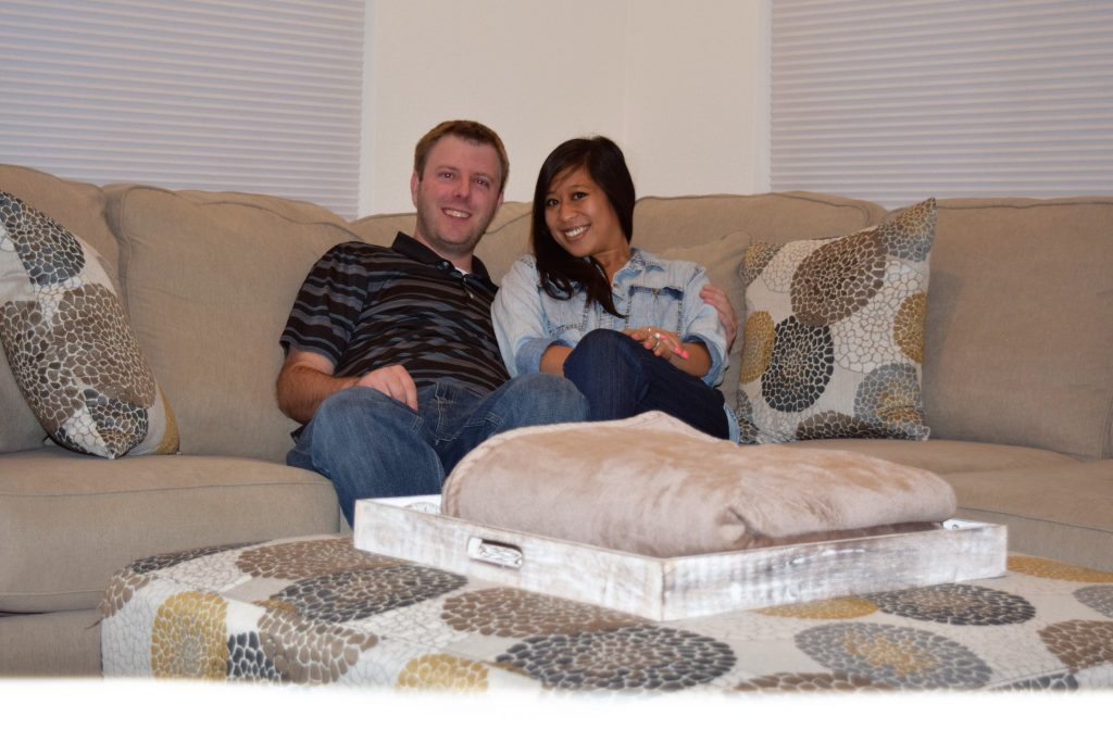 Brad and Pammy new homeowners in Stepping Stone