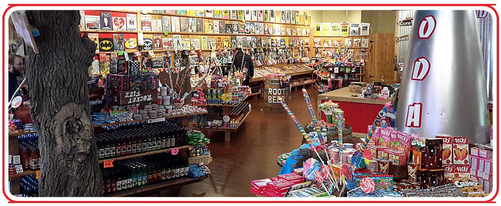 Rocket Fizz store