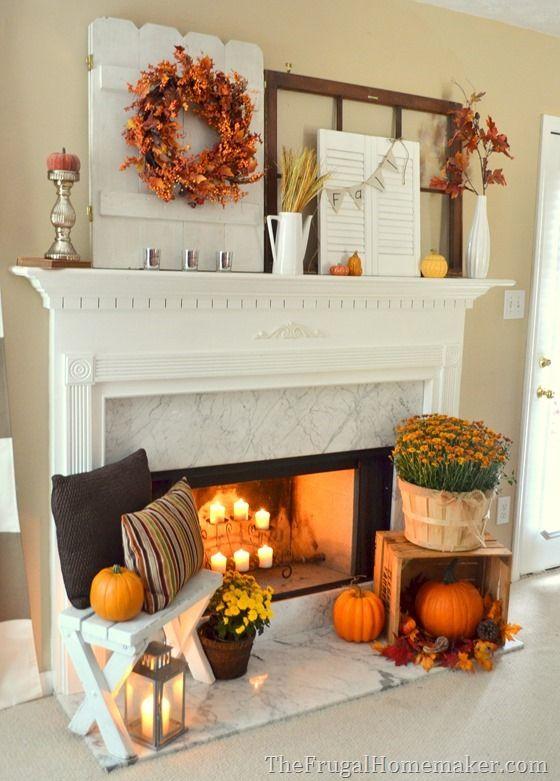 Pumpkin fall decor