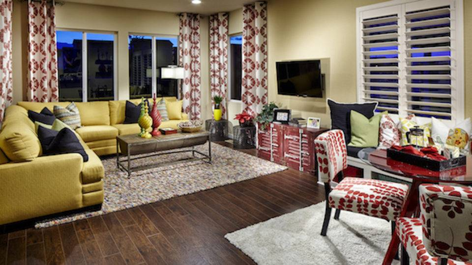 And the award goes to…the model homes of Stepping Stone.