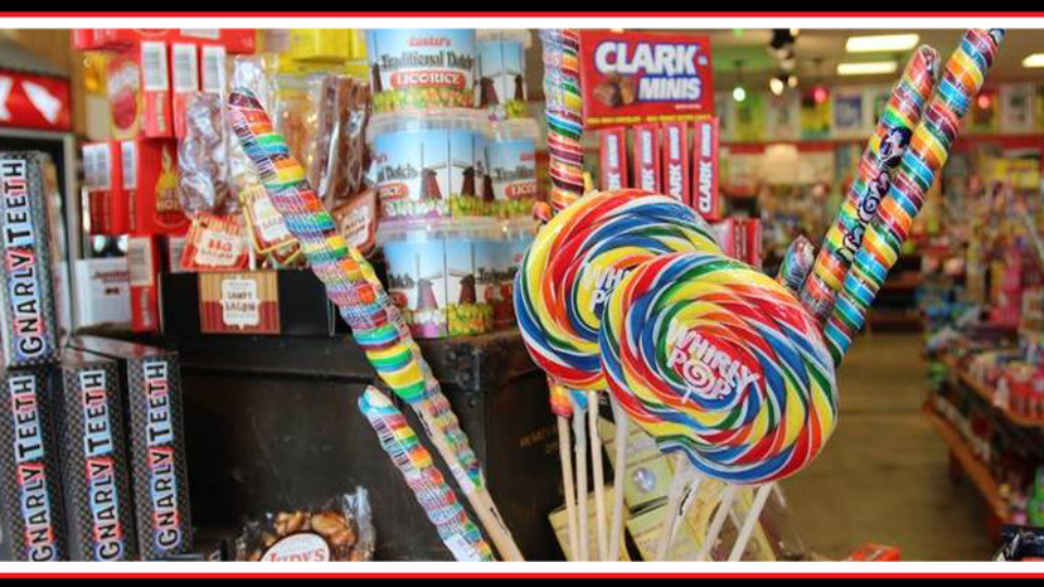 Sweet Nostalgia at Rocket Fizz Candy and Soda