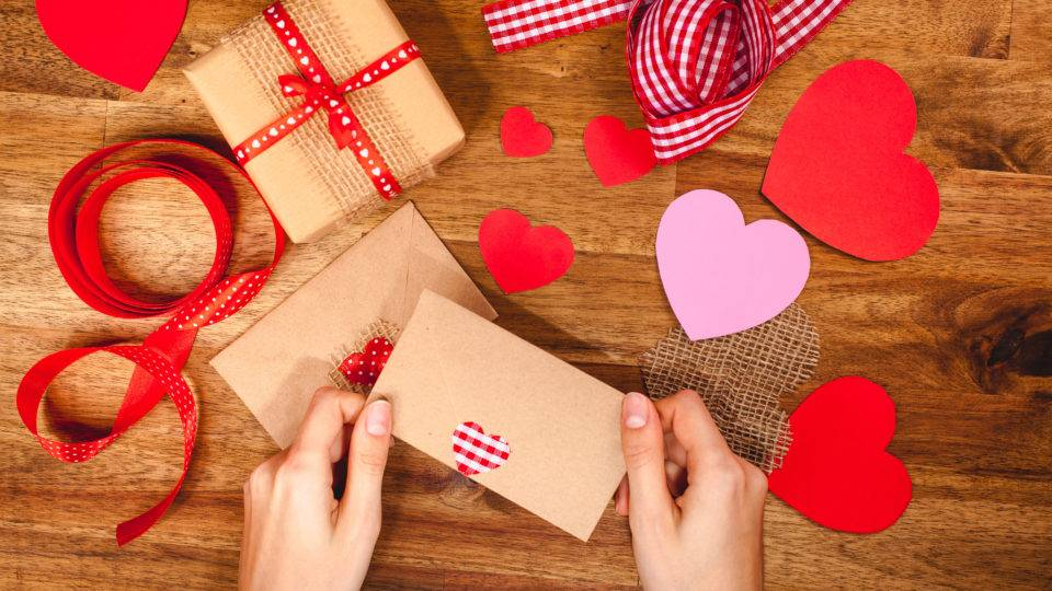 Hand Crafted Valentines From the Heart