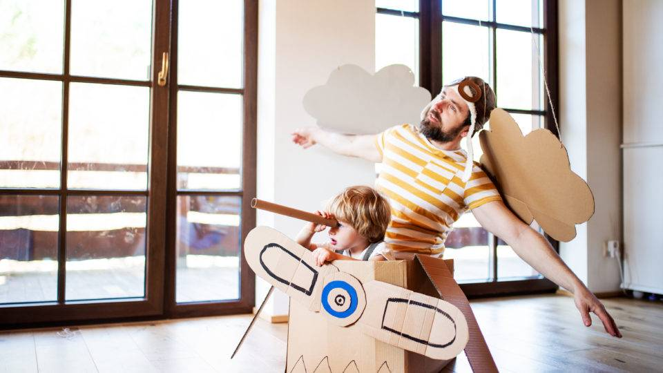 Four kid-friendly summer activities to do at home!