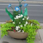 Pansy Flowers | http://www.douglas.co.us/artencounters/sculptures