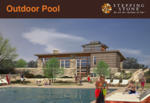 Outdoor Pool at Stepping Stone