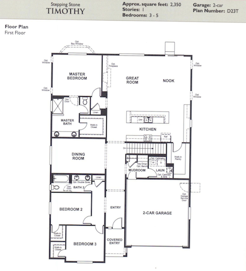 Richmond american homes floor plans colorado thefloors co for American home design plans