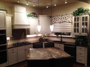 Shea Design Studio professionally designed kitchen gives new homeowners many options to choose from