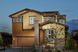 A beautiful model home welcomes vistitors and serves as the Sales Office