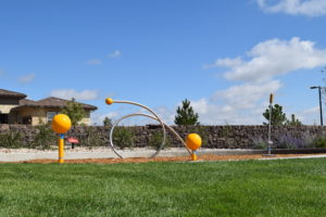 A creative touch of fun in Stepping Stone's parks