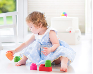 Baby proof play in home