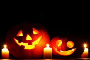 Halloween pumpkins Stepping Stone Colorado