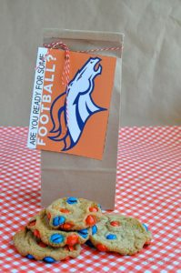 Broncos cookies Stepping Stone CO Pinterest