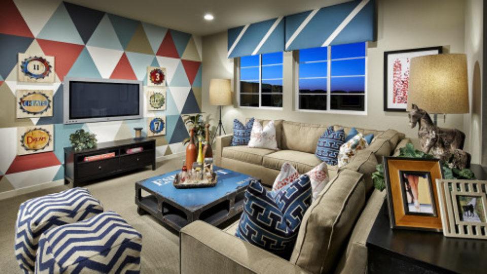 Stepping Stone Colorado family home loft
