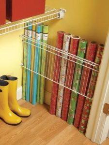 christmas wrapping storage tips