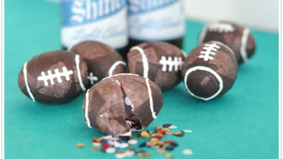 football cascarones
