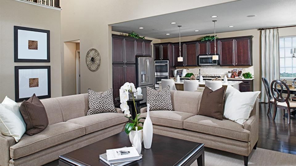 Cynthia great room richmond american homes