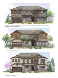 Stepping Stone new homes Stonewalk collection