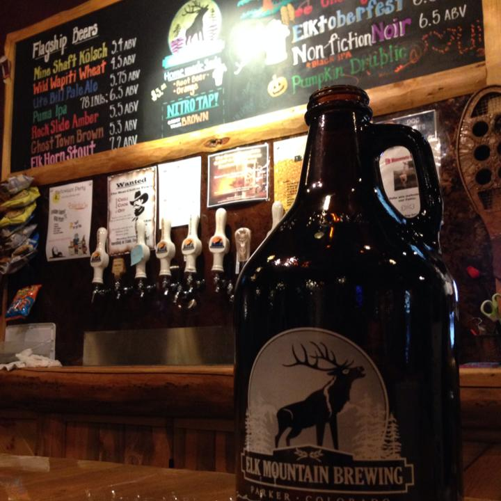 Elk Mountain Brewing Parker Colorado