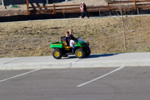 stepping stone fall fest tractor