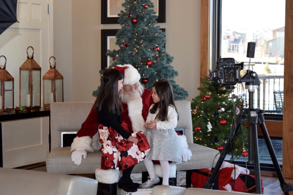 Meeting Santa at Stepping Stone