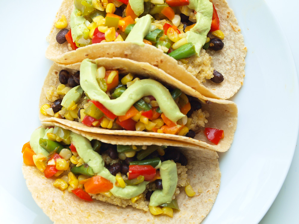Veggie Tacos at Stepping Stone CO