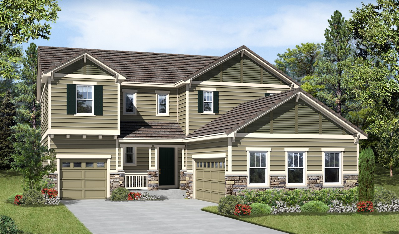 Richmond American Homes Parker Co At Stepping Stone Stepping Stone
